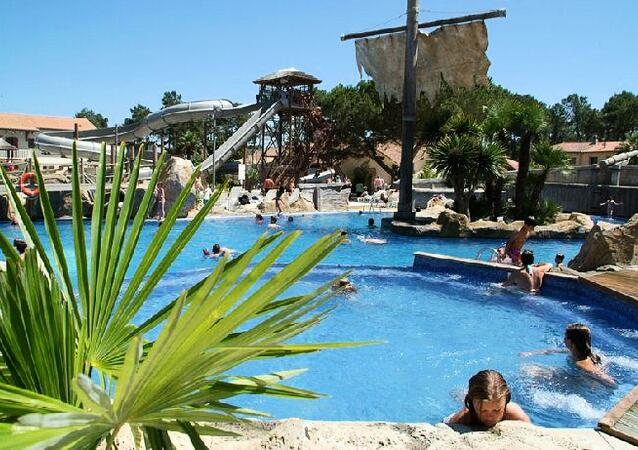 Camping Airotel Le Vieux Port Location Messanges Landes - Camping messanges le vieux port
